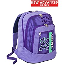 6cece7efce Zaino scuola advanced SEVEN - COLOR GIRL - Viola - 30 LT - inserti  rifrangenti