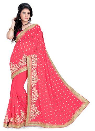 Rachit Fashion Peach Exclusive Designer Sarees
