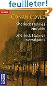Sherlock Holmes enquête/Sherlock Holmes investigates