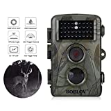 BOBLOV Trail Camera 1920x1080P Video Recording Hunting Game Cam 0.35s Trigger Time 940nm