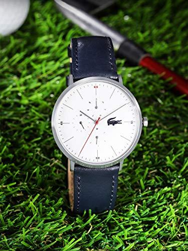 Lacoste Reloj Multiesfera para Hombre de Cuarzo con Correa en Cuero 2010975