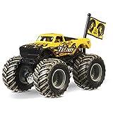 Mattel Hot Wheels Monster Jam Monster-Truck mit Team Flagge (Titan)