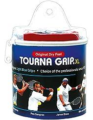 Unique Overgrip Tourna Grip Tour 30er - Mango de raqueta de tenis, color azul, talla standard
