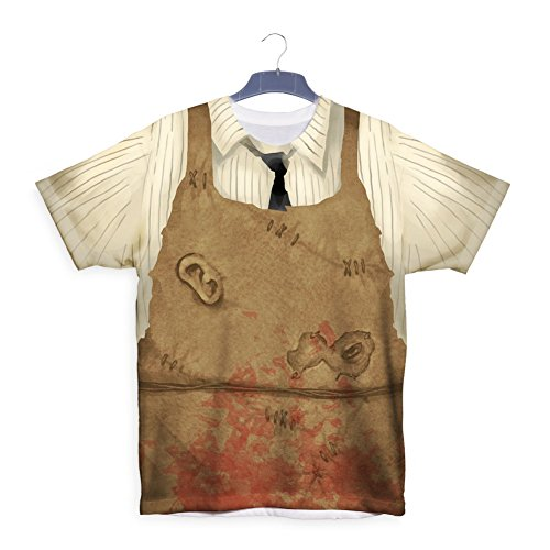 Leatherface Clothes Halloween Party Costume T shirt