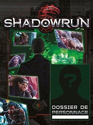 Shadowrun 5 ° Edition Dossier de personnage