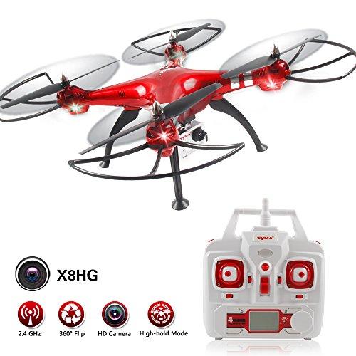 Syma X8 Series 2.4GHz 6-Axis Gyro Wifi FPV con la macchina fotografica HD RC Quadcopter Drone (X8HG)
