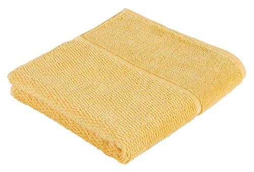Toalla amarilla de mano para baño