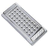 SODIAL(R) Lampara Luz Blanca 36 LED 12V CC para Techo Interior del Coche