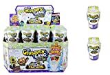 Grossery Gang The Saison 5 - Time Wars - Lot 2pcs Blind Bag (Toilet) - Chaque Blind Bag Contient 2 Figurines - Neuf