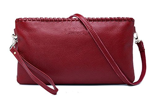 Clutch In Pelle Ms. Red