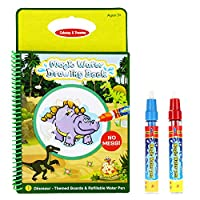 Rangebow Magic Water Reusable Drawing Book and Magic Pen for 2 Years and 3 Years Plus Toys Gift