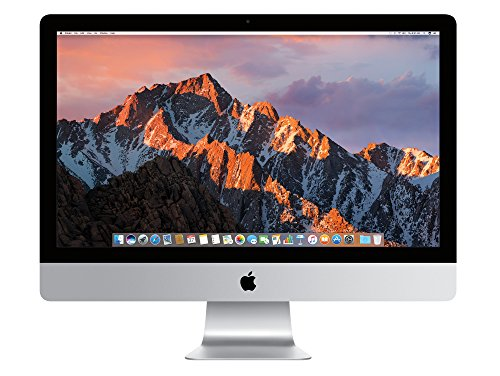 Apple iMac MK482D/A 68,6 cm (27 Zoll) Desktop-PC (Intel Core i5 6600, 8GB RAM, 2TB HDD, AMD Radeon R9 M395: 2GB, Mac OS)