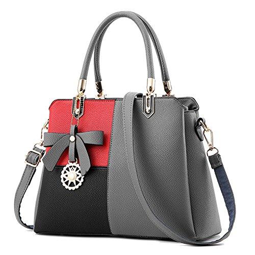 BYD - Pell Donna Borsa Handbag Croce di colore Borse a Mano