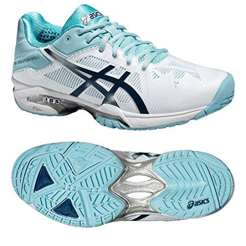 Asics Gel-Solution Speed ??3 Ladies Tennis Chaussures Blanc