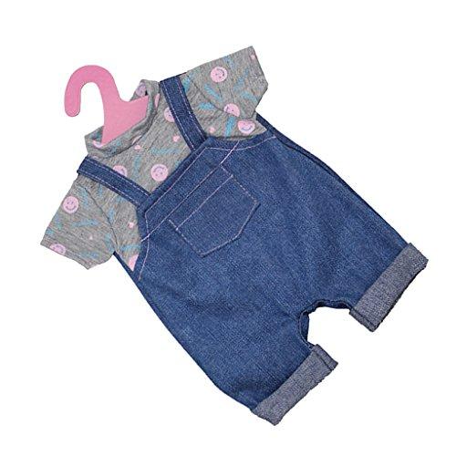 uppen Kleidung mit Kleiderbügel Für 18 Zoll American Girl Bekleidung Zubehör - 10 (Baby Doll Kostüm Bilder)