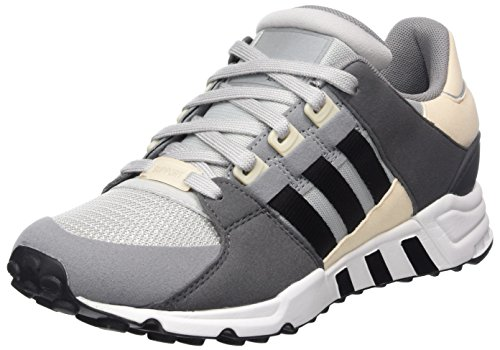 sports shoes 6ad53 b3f0b adidas EQT Support RF, Chaussures de Running Homme, Multicolore  (Gretwocblacklinen), 44