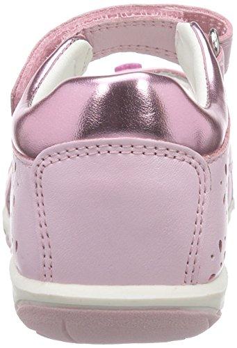 Geox B Nicely C, Chaussures Premiers Pas Bébé Fille Rose (C8004)
