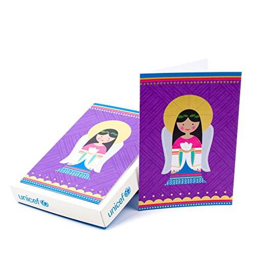 Hallmark UNICEF Christmas Boxed Cards (Christmas Angel, 12 Christmas Greeting Cards and 13 Envelopes)