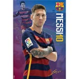 #8: F.C. Barcelona Poster Messi 18