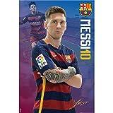 #9: F.C. Barcelona Poster Messi 18