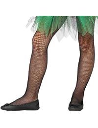 c232132bd1 Collant calze a rete nere bambina per danza o travestimento carnevale