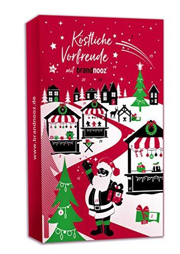 Image of Brandnooz - Riesen Weihnachts XXL Adventskalender | 24x Überraschungsmomente | 24x Markenprodukte für Kleine und Erwachsene