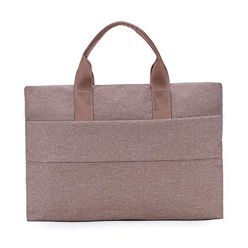 Handtasche Polyester Laptoptasche Business Aktentasche Liner Männer Und Frauen, 41 * 30 * 7Cm@Khaki_15 Zoll Polyester Liner