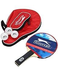 Raqueta de tenis de mesa Set con 3bolas y bolsa