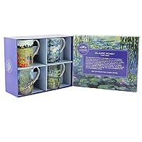 Leonardo Collection Monet Mugs Set of 4