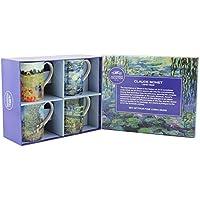 Leonardo Collection Monet, Juego de 4 Tazas