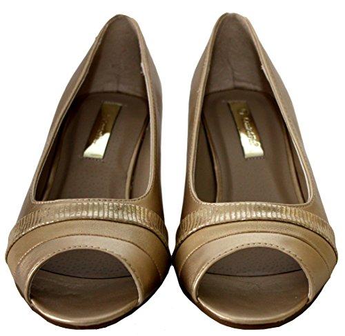 Comfort Plus  Leona,  Mädchen Damen Pumps Gold