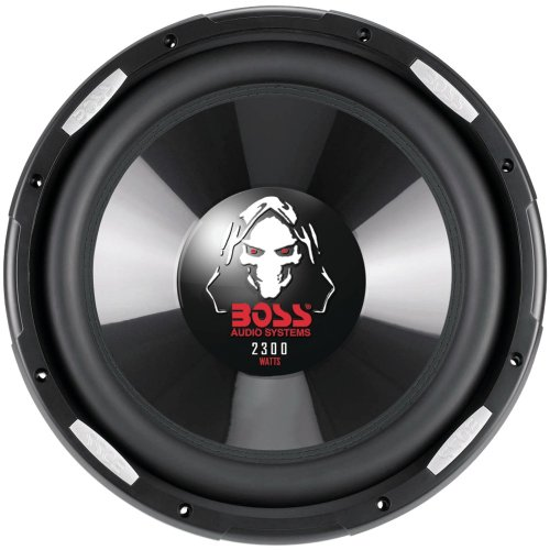 BOSS Audio p126dvc Phantom Series Dual-Schwingspule Subwoofer
