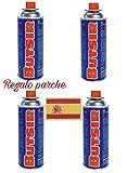 4 CARTUCHO GAS BUTSIR Cartucho de gas butano B-250 Envio 24Horas Por Asm Urgente Elige Vendido y Enviado Por Chollo-Express