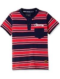Cherokee by Unlimited Boys' Plain Regular Fit T-Shirt
