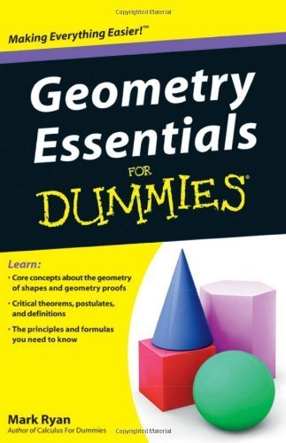 Geometry Essentials For Dummies 1st by Ryan, Mark (2011) Paperback