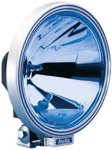 HELLA 1F8 006 800-321 Fernscheinwerfer Rallye 3000 Blue, rund, Anbau links/rechts hängend/stehend, Halogen, 12/24 V