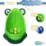 Bébélol® Pot bébé urinoir pour enfant en forme de grenouille aux couleurs vives ! Coloris au Choix (vert)