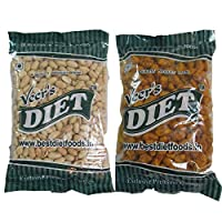 Combo of Peanuts (400G) and Tasty (400G) (Nuts) Pack of 2