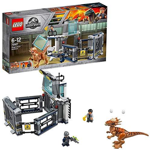 LEGO  Jurassic World  Ausbruch des Stygimoloch 75927 Unterhaltungsspielzeug für Jungen und Mädchen (Park City Lego)