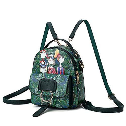 RMXMY 3D Rucksack Tasche weibliche Multi Frauen Mini Rucksack Reiserucksack Tasche Damen Handtasche Crossbody Tasche Wasserdichte Mode kleinen Rucksack