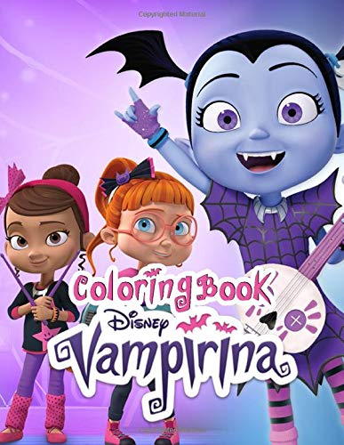 Vampirina coloring book: 50+ funny illustration great coloring book for kids ages 4-8