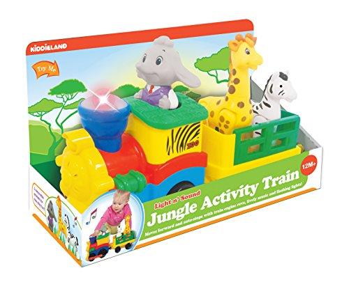 KiddieLand 053884 - Der Zug Safari mit Tieren