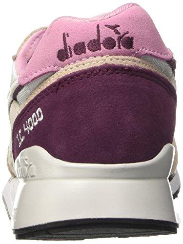 Diadora i.c 4000 Nyl Ii, Sneaker a Collo Basso Unisex – Adulto Rosa (Rosa Peonia/Prugna)