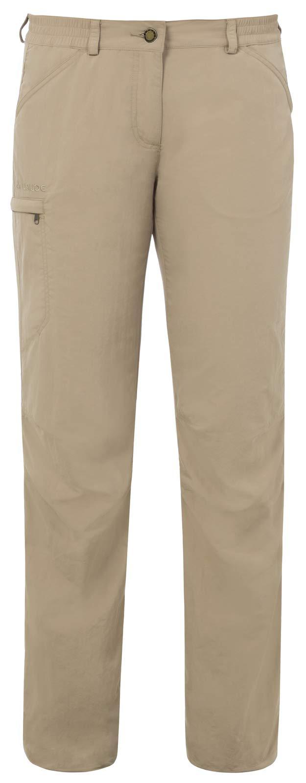 VAUDE Damen Hose Farley Pants IV, Muddy, 40, 03872