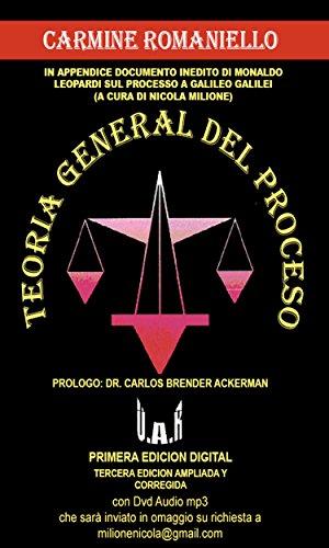 Teoria general del proceso por Carmine Augusto Romaniello