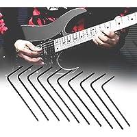 Broadroot 10pcs hexagonal llave de afinación para guitarra eléctrica acústica Bass ...