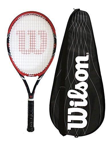 Wilson Federer Team 105 Tennis Racket + BLX Cover RRP £170