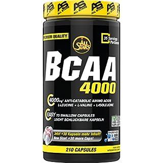 All Stars BCAA 4000 - Kapseln á 900 mg, 210 Kapseln, 1er Pack (1 x 189 g)