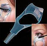 foopp 3in 1Mascara Applikator Werkzeug Wimper Kamm Make-up Kunststoff Wimpernzange Schönheit (zufällig senden)