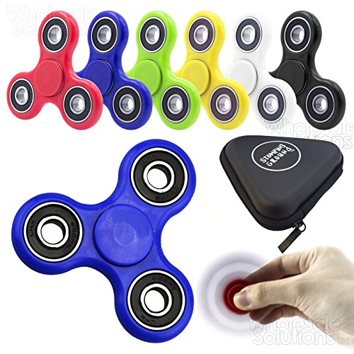 new-plastic-fidget-hand-toy-finger-spinner-steel-bearings-edc-pocket-desk-focusc-blue